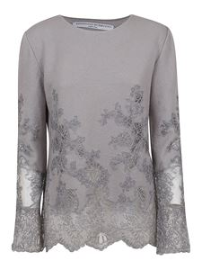 Ermanno Scervino - Floral lace embroidery blouse