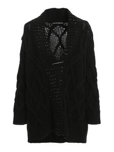 Ermanno Scervino - Crystal embellished wool blend cardigan