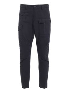 Dsquared2 - Pantalone effetto destroyed nero