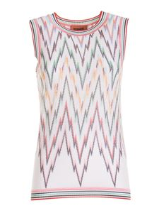 Missoni - Patterned tank top multicolor