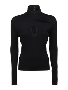 MSGM - Knitted top in black