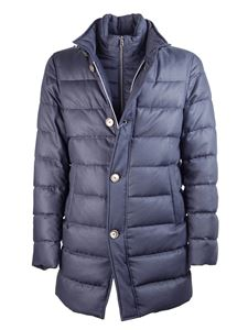 Herno - Padded jacket in blue