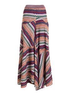 Missoni - Chevron pattern long skirt