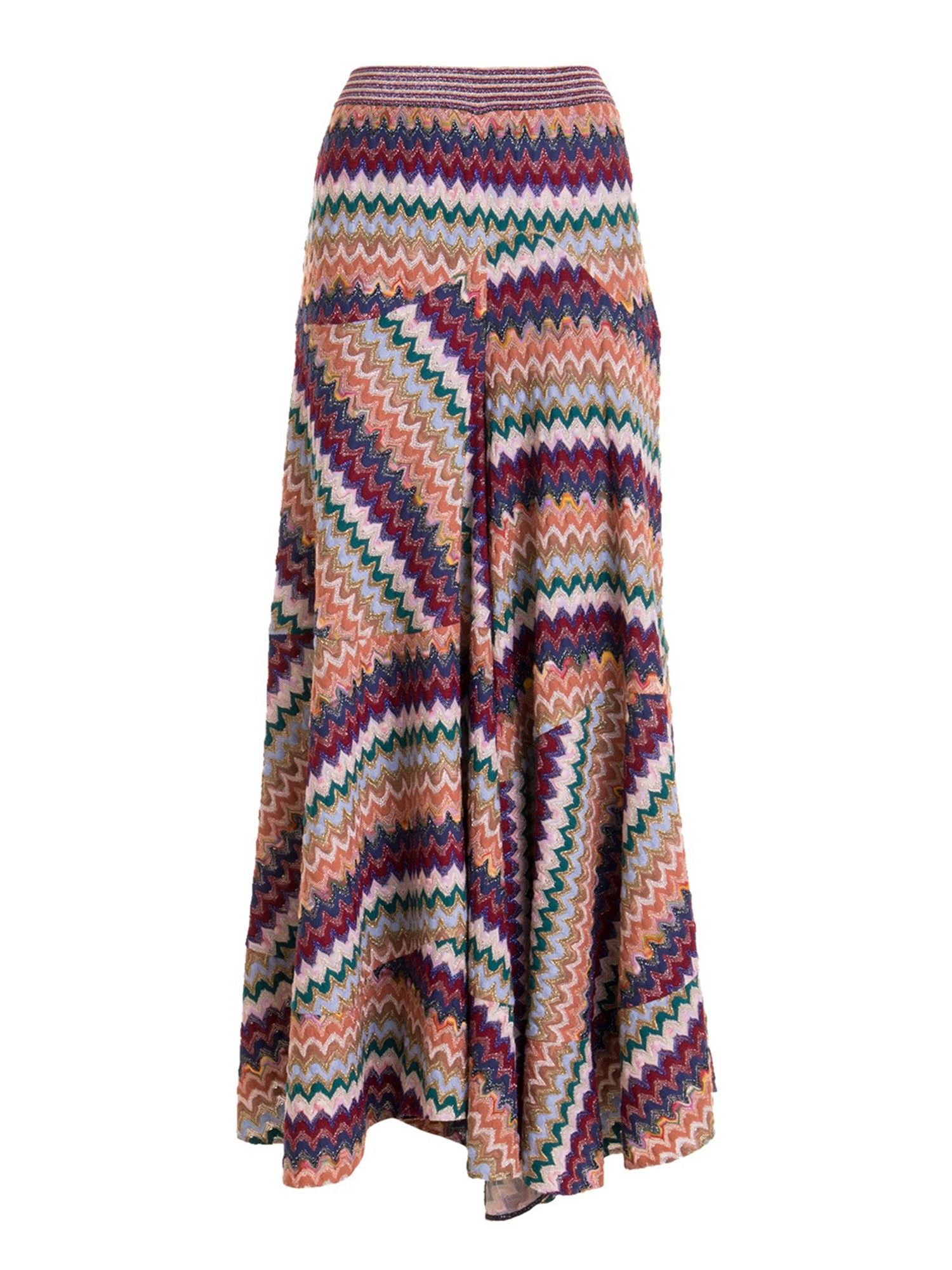 MISSONI CHEVRON PATTERN LONG SKIRT