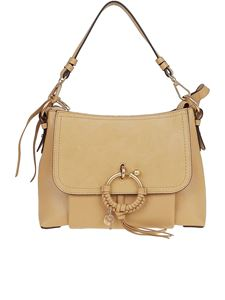 See by Chloé - Joan medium shoulder bag in beige