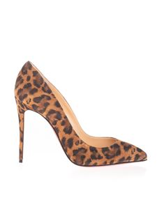 Christian Louboutin - Décolleté Pigalle Follies 100 animalier