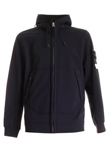 Stone Island - Soft Shell-R jacket in blue