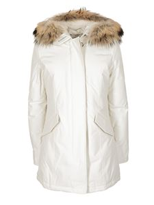 Woolrich - Artic Parka down jacket in white