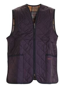 Barbour - Gilet con tasche frontali blu