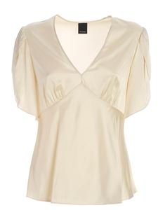 Pinko - William top in ivory color