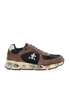 Premiata - Mase sneakers in shades of blue and brown