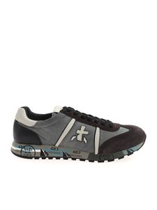 Premiata - Lucy sneakers in grey black and brown