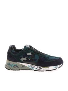 Premiata - Mase sneakers in shades of blue and green