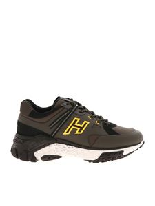 Hogan - Urban Trek sneakers in green and black