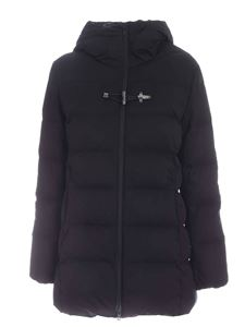 Fay - Hooded down jacket in black