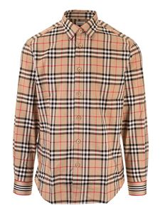 Burberry - Camicie Archive Beige Vintage check