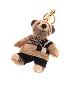 Burberry - Thomas keychain with pullover and cap in beige