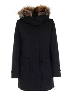 Woolrich - Scarlett Parka down jacket in black