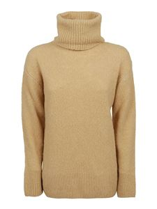 Kenzo - Wool and recycled cashmere sweater in beige