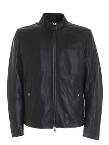 Dondup - Biker jacket in black