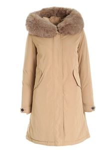 Woolrich - Keystone Parka down jacket in beige