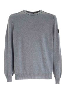 Hogan - Reverse seams pullover in grey
