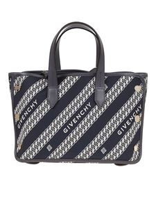 Givenchy - Bond Mini shopping bag in blue