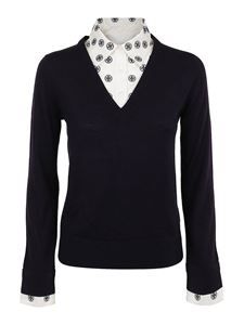 Tory Burch - Dickie sweater in blue