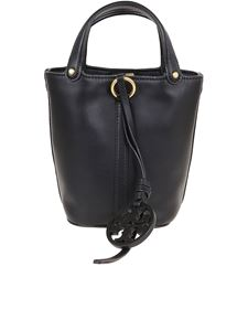 Tory Burch - Miller Mini bucket bag in black