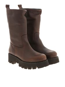 Paloma Barceló - Boa boots in brown