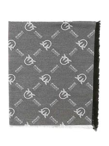 Pinko - Brevis 1 scarf in black and white