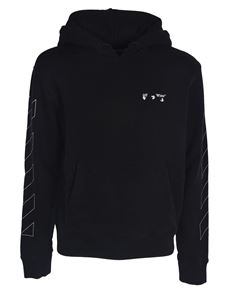 Off-White - Diag OW Logo hoodie in black