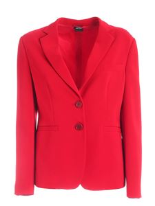 Aspesi - Single-breasted jacket in red