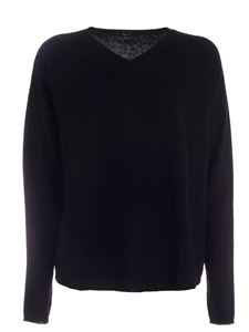 Aspesi - Wool pullover in black