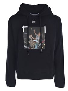 Off-White - Pascal Print hoodie in black