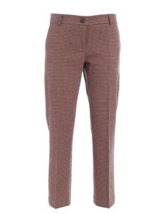 Semicouture - Arielle pants in brown and black