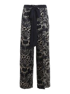 S Max Mara - Cavour pants in blue
