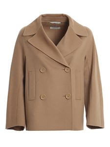 S Max Mara - Caban Connie beige