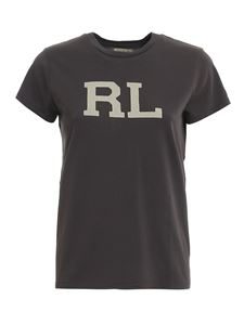 POLO Ralph Lauren - RL logo T-shirt in grey