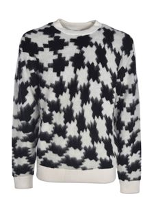 Marcelo Burlon County Of Milan - Cross Pdp sweater in black and white