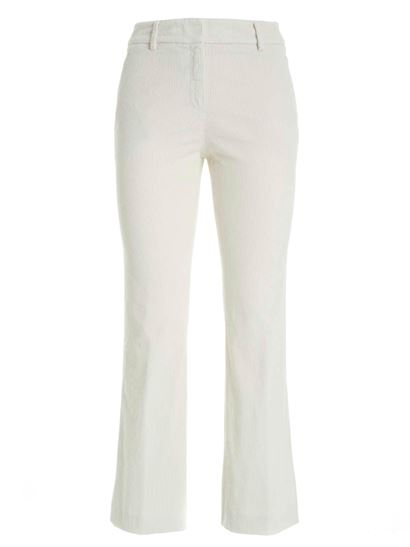 True Royal - Sandy pants in ivory color