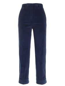 True Royal - Coco corduroy pants in blue