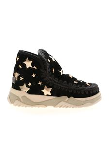 Mou - Eskimo Trainer Leather Star sneakers in black