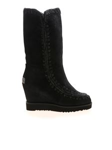 Mou - Eskimo French boots in black