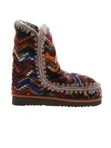 Mou - Eskimo Wool multicolor ankle boots