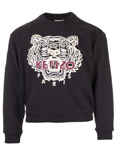 Kenzo - Sweatshirt with Tiger embroidery in black