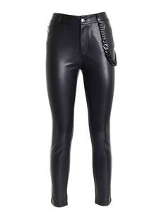 Ermanno Scervino - Pants with chain in black