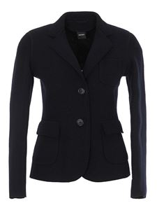 Aspesi - Wool blazer in blue
