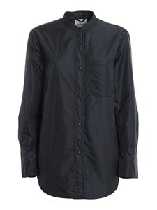 Aspesi - Nylon shirt jacket in blue