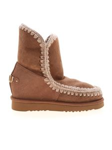 Mou - Inner Wedge Short ankle boots in brown